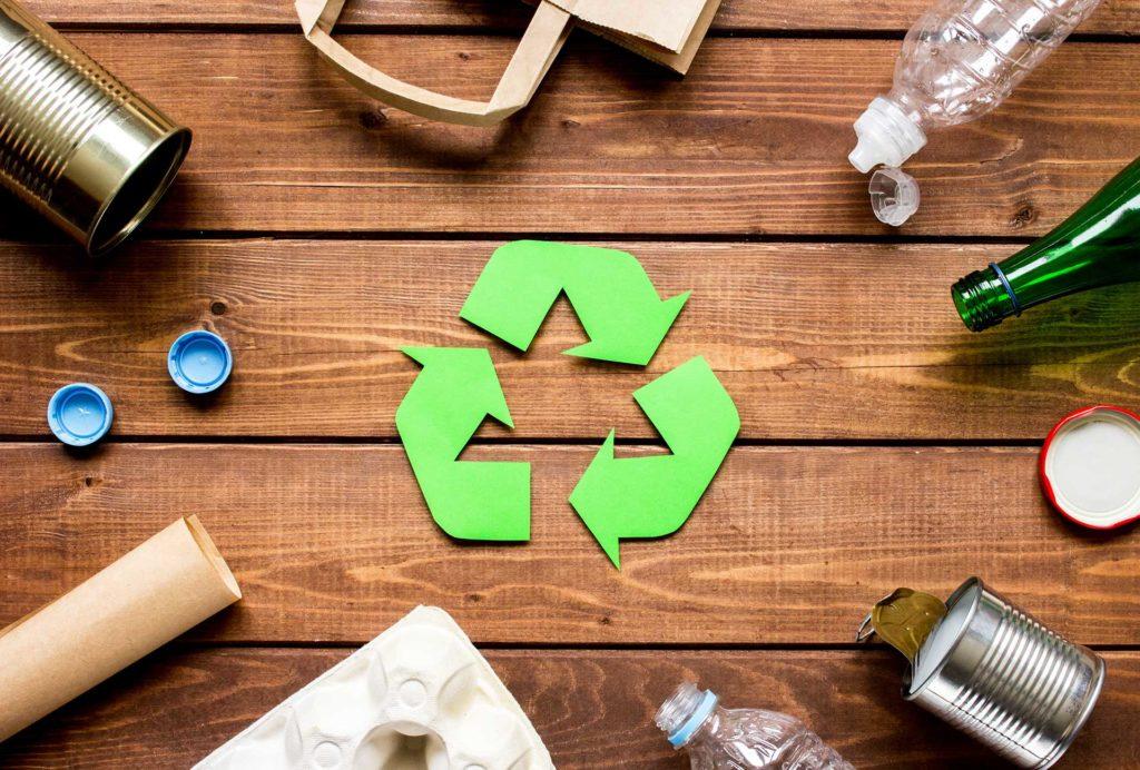 Metallerkennung im Recycling-Bereich